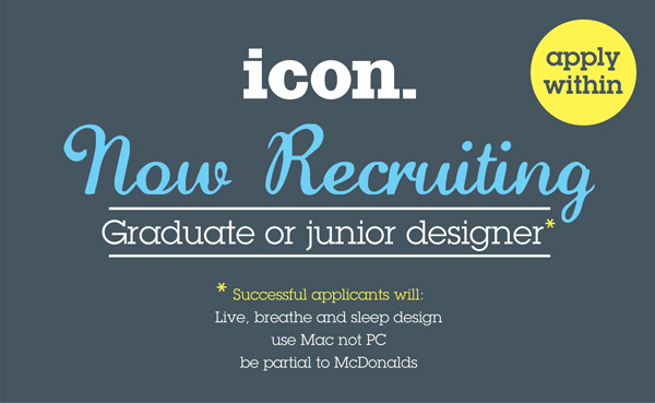 Icon recruiting